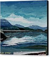 Buttle Lake Canvas Print by David Skrypnyk