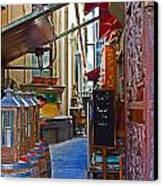 Ca De Vin Canvas Print by Mamie Thornbrue