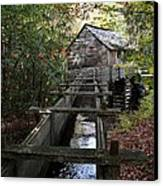 Cable Grist Mill 3 Canvas Print by Mel Steinhauer