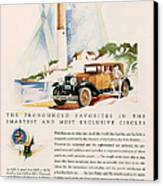 Cadillac La Salle 1929 1920s Usa Cc Canvas Print by The Advertising Archives