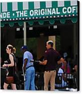 Cafe Cafe  Canvas Print by Kenneth Feliciano