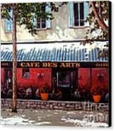 Cafe Des Arts   Canvas Print by Michael Swanson