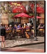 Cafe - Hoboken Nj - Cafe Trinity  Canvas Print