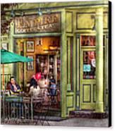 Cafe - Hoboken Nj - Empire Coffee And Tea Canvas Print
