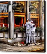 Cafe - The Painters Canvas Print