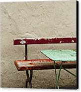 Cafeteria Canvas Print by Margie Hurwich