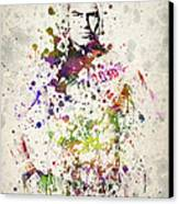 Cain Velasquez Canvas Print by Aged Pixel