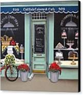 Caitlin's Cakery And Cafe Canvas Print