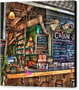 Cajun Cafe Canvas Print