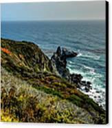 California - Big Sur 005 Canvas Print by Lance Vaughn