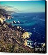 California Coast Canvas Print