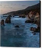 California Coast Dusk Canvas Print