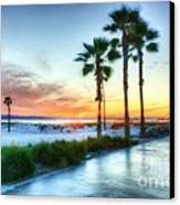 California Dreaming Canvas Print by Mel Steinhauer