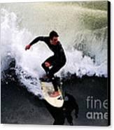 California Surfer Canvas Print