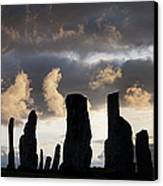 Callanish Standing Stones Canvas Print by Tim Gainey