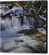 Calypso Cascades Canvas Print by Tom Wilbert