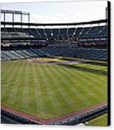 Camden Yards - Baltimore Orioles Canvas Print by Darleen Stry