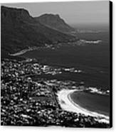 Camps Bay Cape Town Canvas Print by Aidan Moran