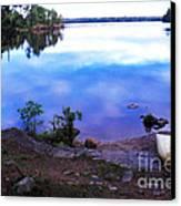 Campsite Serenity Canvas Print