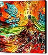 Candy Mountain 2 Canvas Print by Bernard MICHEL