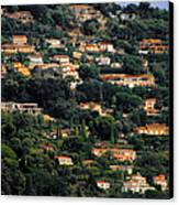 Cannes - Life Which Everybody Dreams Of Living Canvas Print by Christine Till