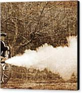 Cannon Fire Canvas Print
