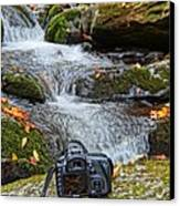 Canon 7d Canvas Print by Dan Sproul