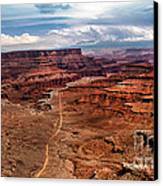 Canyonland Canvas Print by Robert Bales