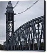 Cape Cod Railroad Bridge No. 2 Canvas Print by David Gordon
