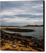 Cape Porpoise Maine - After The Rain Canvas Print by Bob Orsillo