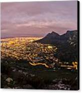 Cape Town Nights Canvas Print by Aaron Bedell