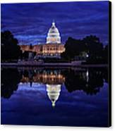 Capitol Morning Canvas Print by Metro DC Photography