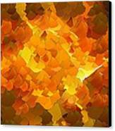 Capixart Abstract 101 Canvas Print by Chris Axford