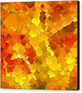 Capixart Abstract 103 Canvas Print by Chris Axford