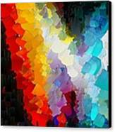 Capixart Abstract 111 Canvas Print by Chris Axford