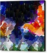 Capixart Abstract 119 Canvas Print by Chris Axford