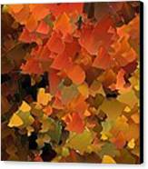 Capixart Abstract 79 Canvas Print by Chris Axford