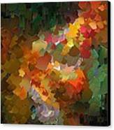 Capixart Abstract 90 Canvas Print by Chris Axford