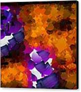 Capixart Abstract 96 Canvas Print by Chris Axford