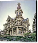 Captain George Flavel Victorian House - Astoria Oregon Canvas Print