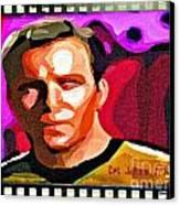 Captain James T Kirk Canvas Print