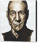 captain Jean Luc Picard Star Trek TNG Canvas Print