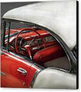 Car - Classic 50's  Canvas Print by Mike Savad