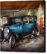 Car - Granpa's Garage  Canvas Print by Mike Savad
