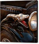 Car - Steamer - Snake Charmer  Canvas Print by Mike Savad