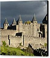 Carcassonne Panorama Canvas Print