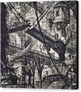 Carceri Vii Canvas Print by Giovanni Battista Piranesi