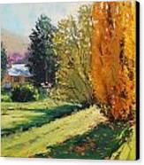 Carcor Autumn Canvas Print by Graham Gercken