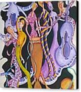 Caribbean Calypso Canvas Print