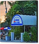 Caribbean Club Key Largo Canvas Print